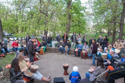 Petar Yordanov BunyVerse Drum Circle - Carskata Gradina
