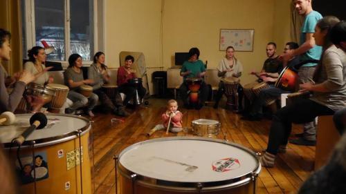 Petar Yordanov BunyVerse Drum Circle - National Students House